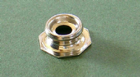 Pull the Dot Stud - Nickel Plated Brass